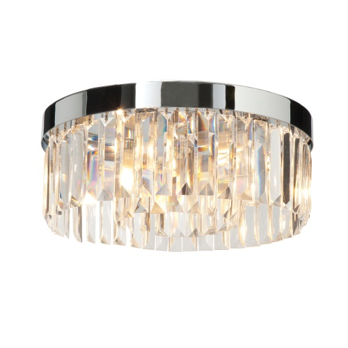 35612 Crystal Bathroom Ceiling Lights | The Lighting Superstore