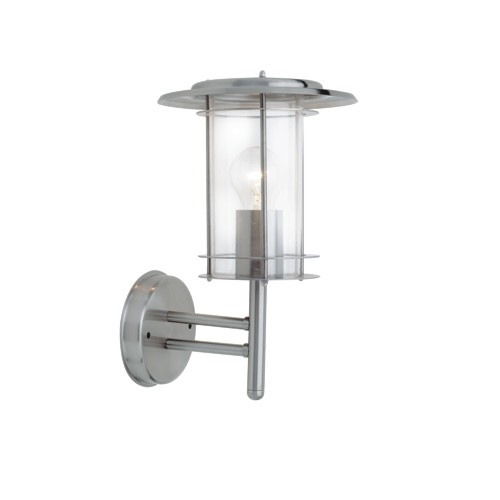 Chrome Garden Wall Lights : 4478182 York Outdoor Wall Light The Lighting Superstore