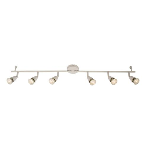 Amalfi 6 Head Gloss White Spot Bar 61002