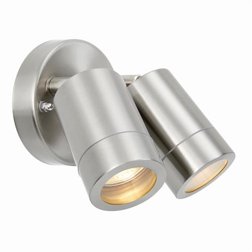 Atlantis IP65 Stainles Steel Coastal Wall Light 73446