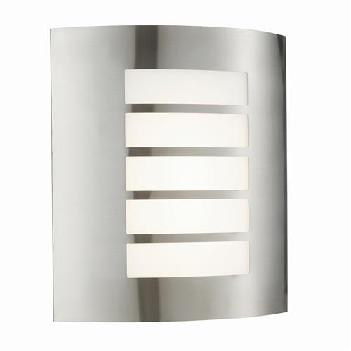 Bianco LED IP44 Stainless Steel Outdoor Wall Light 75930