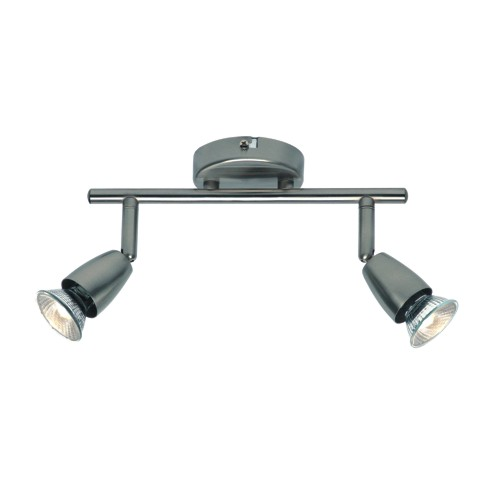 Amalfi Satin Nickel Twin Light Spot Bar G2521313