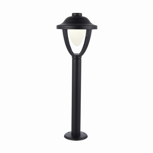 Larkin LED IP44 Black Outdoor Post Light 79206