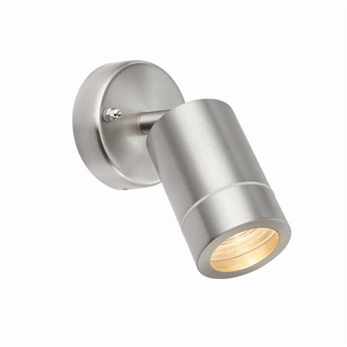 Palin Stainless Steel IP44 Rated Wall Light 75448