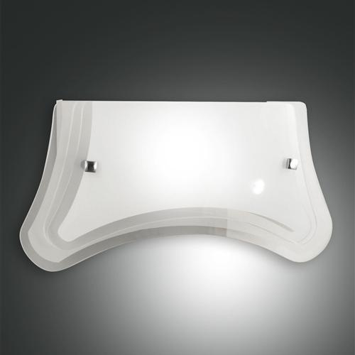 3113-21-102 Milton Curved Glass Wall Light