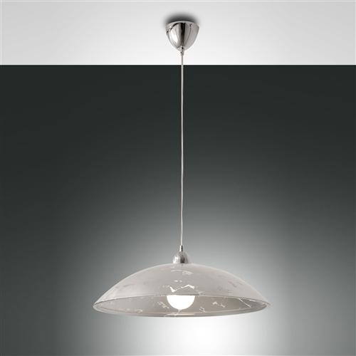 3316-40-324 Royal Silver Domed Pendant Light
