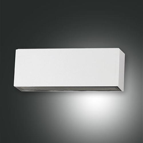 Moon Wall Light Remote Control : 6786-02-854 Trigg LED Silver Rectangular Outdoor wall Light The Lighting Superstore