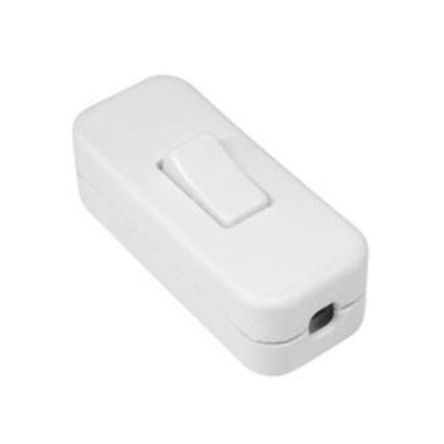 White In Line Rocker Switch 05297 The Lighting Superstore