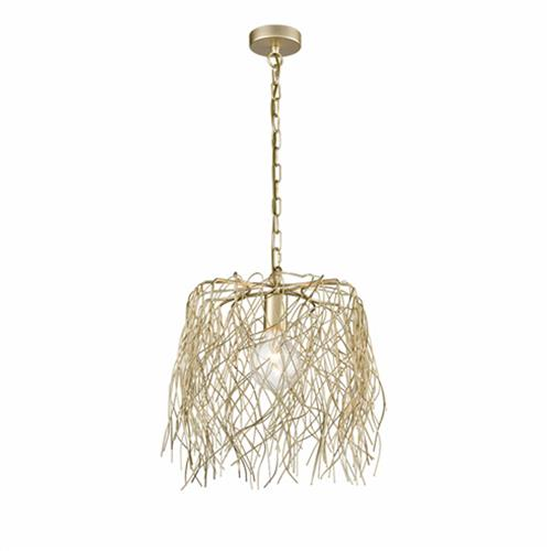 Aspen Large Twig Effect Pendant Ceiling Fitting The
