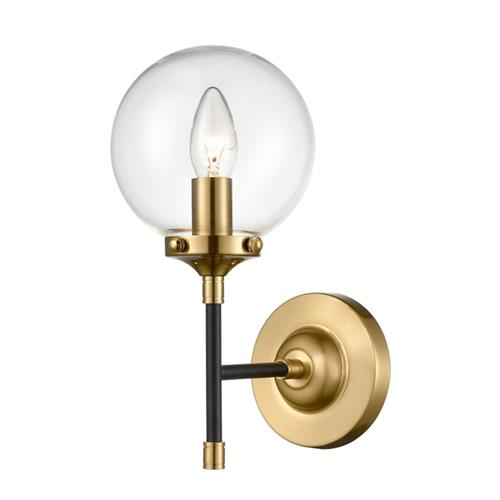 Fala Antique Gold Single Arm Wall Light TP2409-1
