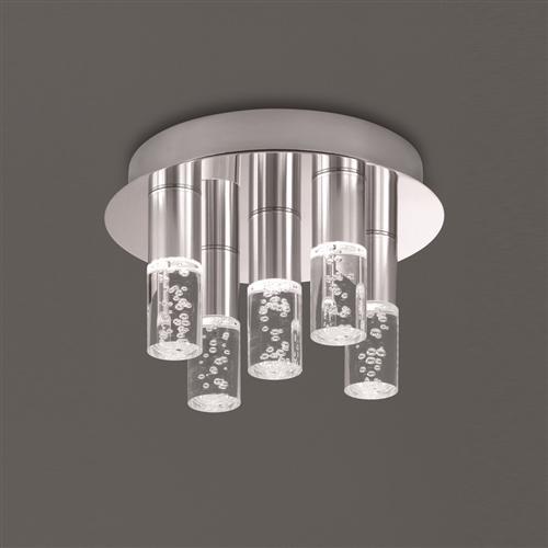 best loved 7e139 96c92 Bubbles LED Bathroom Ceiling Light Cf5764