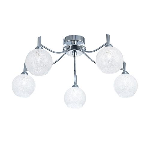 Chrysalis 5 Light Semi Flush Ceiling Fitting Fl2359/5