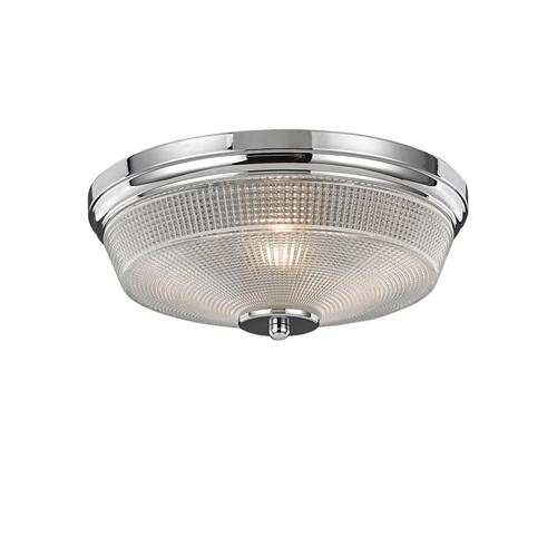 Concept IP44 Rated Glass Flush Ceiling Light Cf5771