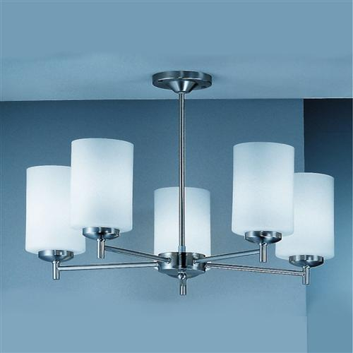 Decima Upwards 5 Arm Semi Flush Ceiling Light Co9305/727