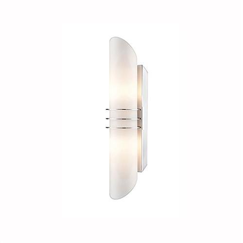 Delaine IP44 Chrome Bathroom Wall Light QF134