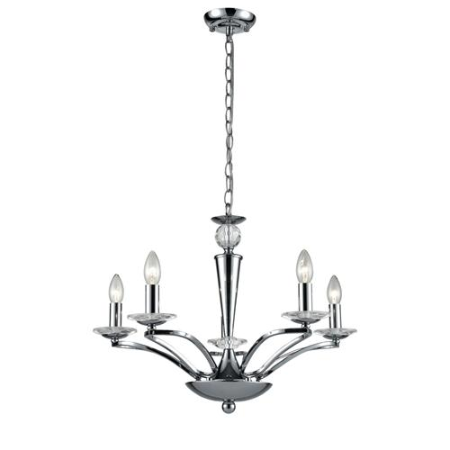 elena 5 arm crystal ceiling fitting fl2374 5 the lighting superstore