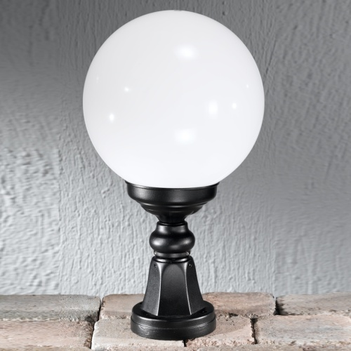 Rotonda Globe Outdoor Post Light Ext6592 The Lighting