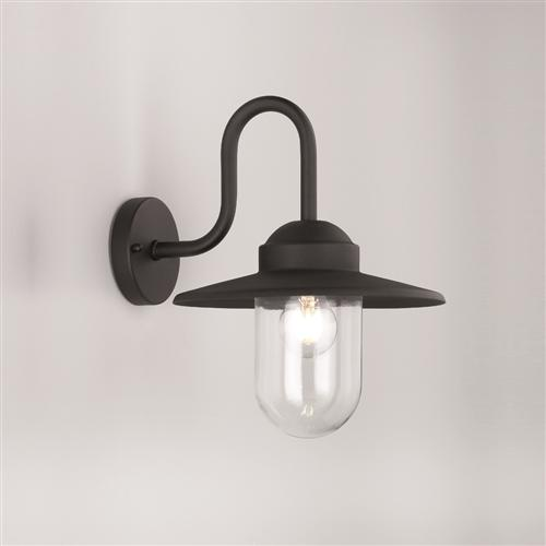 Fortuna Outdoor Black Wall Light OUW6615