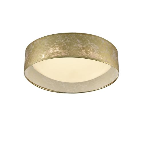 Fabric Shade Flush LED Ceiling Light Cf5787
