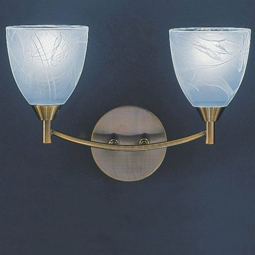 Flyne Bronze Double Wall Light TP2105/2