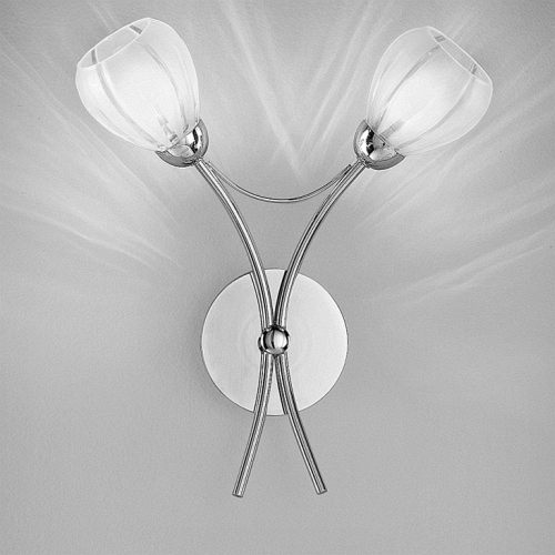 Femma Chrome Double Wall Light TP2206/2