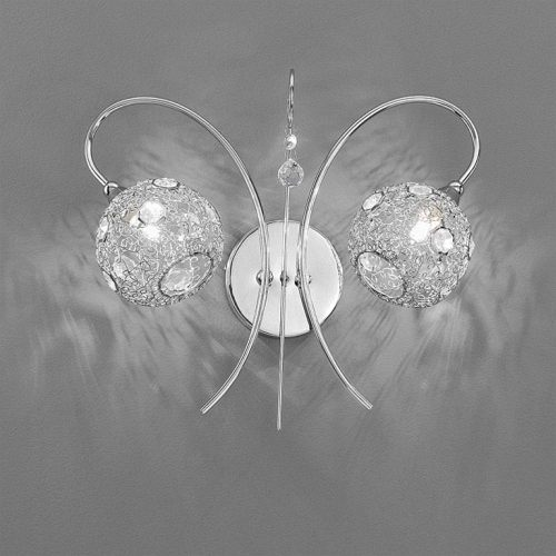 Shea Wall Light Polished Chrome TP2214/2