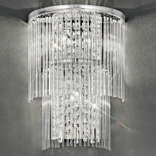 Charisma Crystal Triple Wall Light Fl2309/3