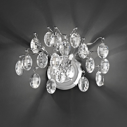 Wisteria Crystal LED Wall Light Fl2326/2