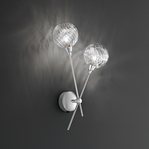FL2329/2 Protea Double Wall Light