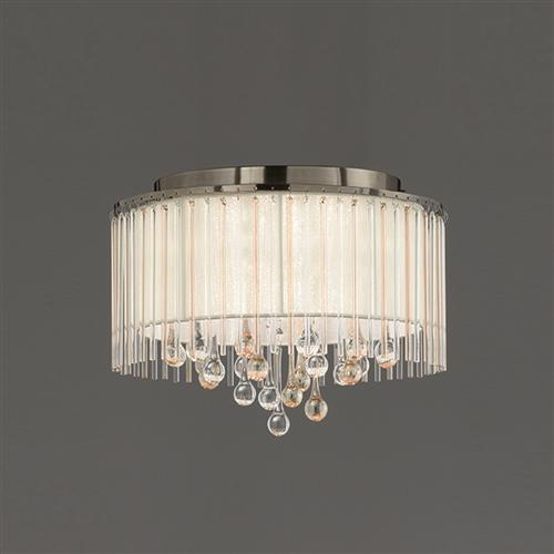 FL2345/6 Ambience Small Semi Flush Ceiling Light