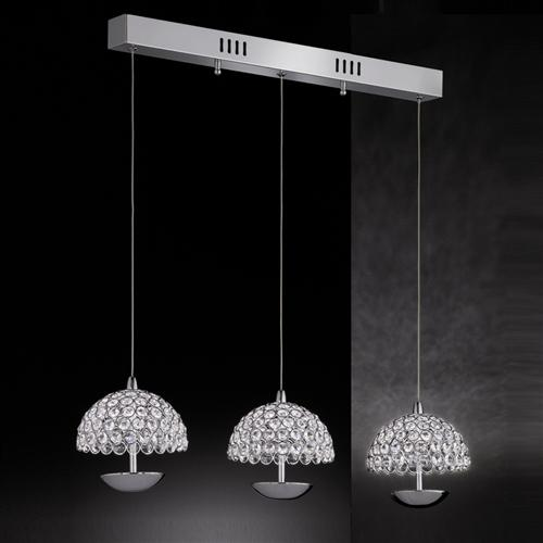 Illusion LED Triple Ceiling Pendant Fl2349/3