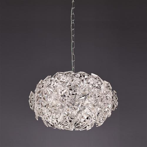 Mosaic Rounded Crystal Ceiling Pendant Fl2352/6