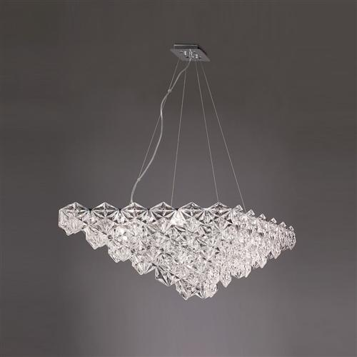 Mosaic Oval Crystal Ceiling Pendant Fl2352/7