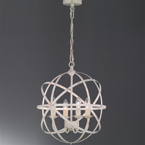 FL2353/4 Cosmic Four Light Pendant