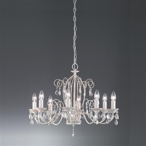Aria Crystal 8 Arm Ceiling Light Fl2355/8