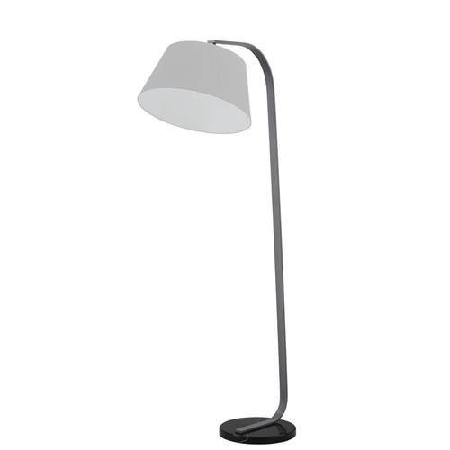 Grey Modern Standard Floor Lamp   The Lighting Superstore