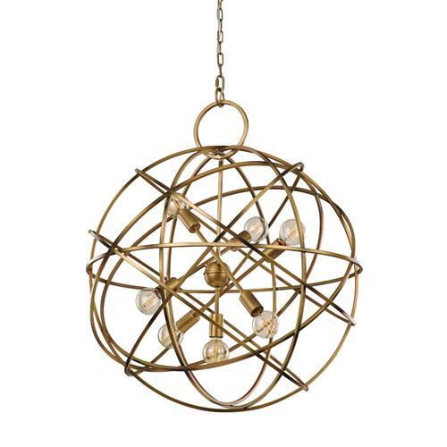 Orbit Spherical Ceiling Pendant Fl2366 7