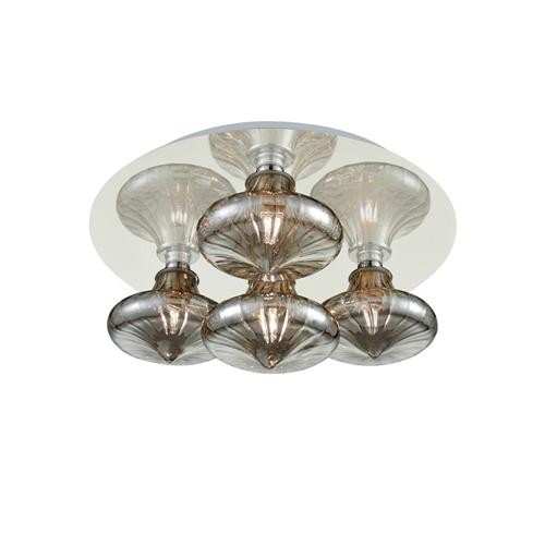 Pressed Glass LED Bathroom Ceiling Light Cf5777/990