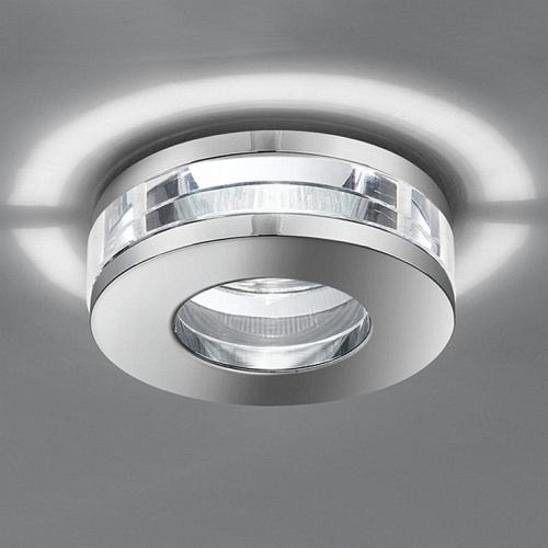 Modern Polished Chrome Downlight Rf266 The Lighting