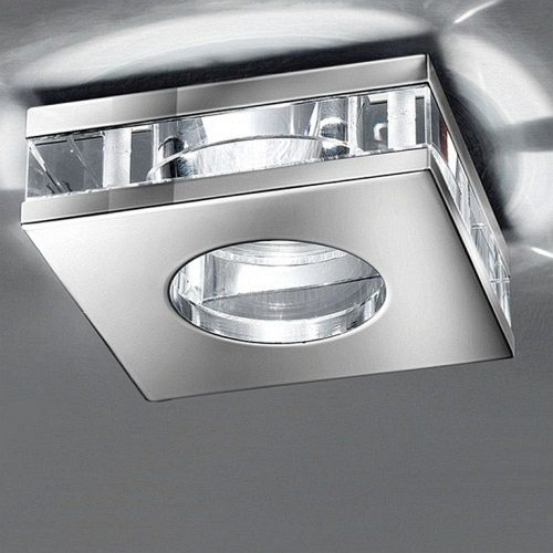 Modern Chrome Recessed Downlight Rf267