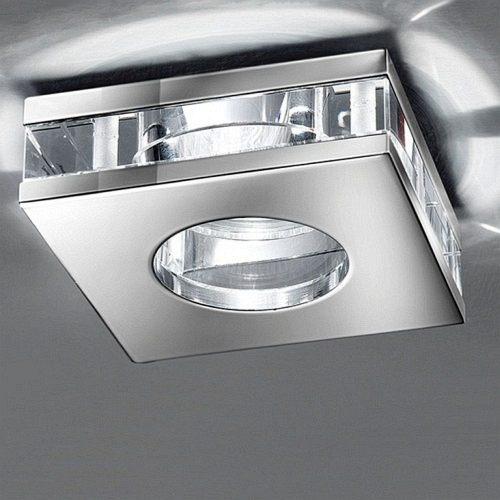 Modern Chrome Recessed Downlight Rf267 The Lighting
