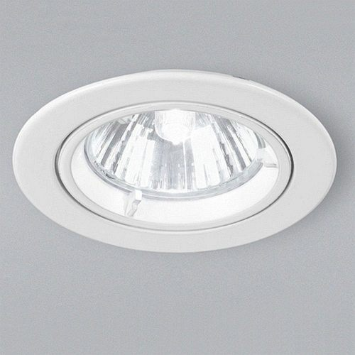 RF271 GU10 White Recessed Downlight