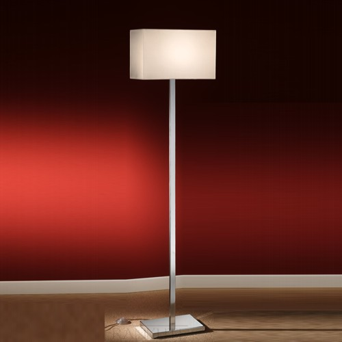 SL154/9881 Chrome Modern Floor Lamp