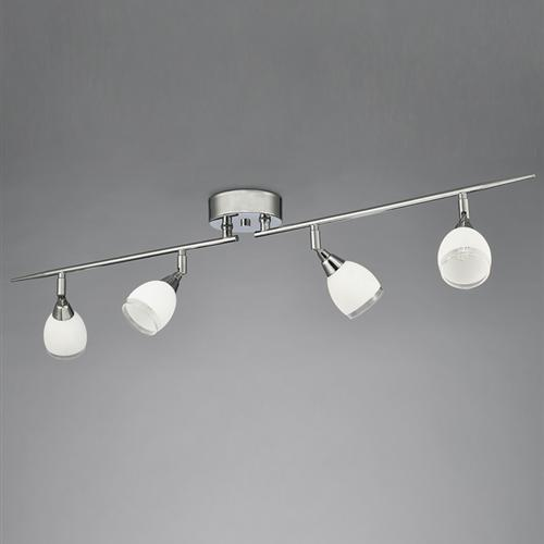 Selah Polished Chrome Four Light Ceiling Fitting RDNW8964