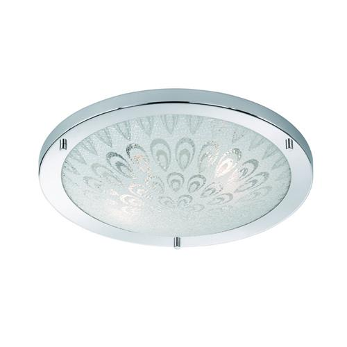 Tear Drop Decorative 2 Light Bathroom Fitting Cf5751