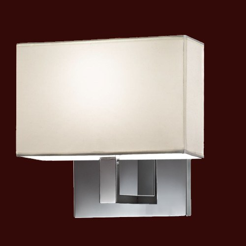 Switched Wall Lights For Bedroom : Single Fixed Arm Wall Light The Lighting Superstore
