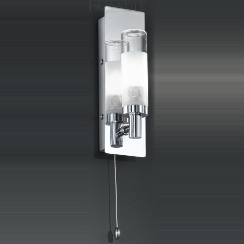 WB996 Chrome Switched Bathroom Wall Light