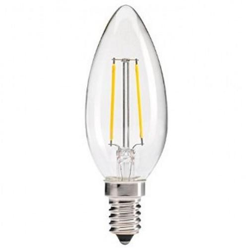 LED Filament Candle 4W SES Clear Afffil200