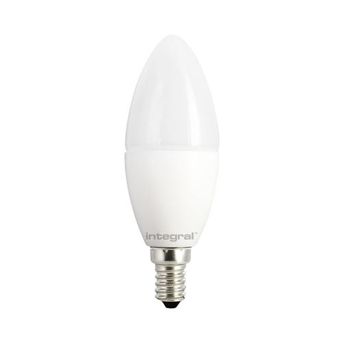 Candle LED E14 806 Lumen Frosted 53-26-74