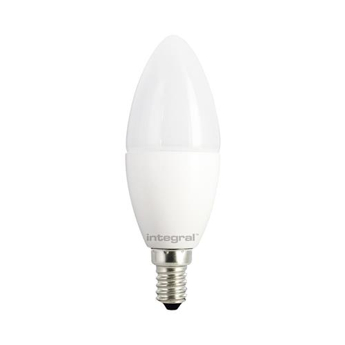 Candle LED E14 830 Lumen Cool White Frosted Illcande14nf055
